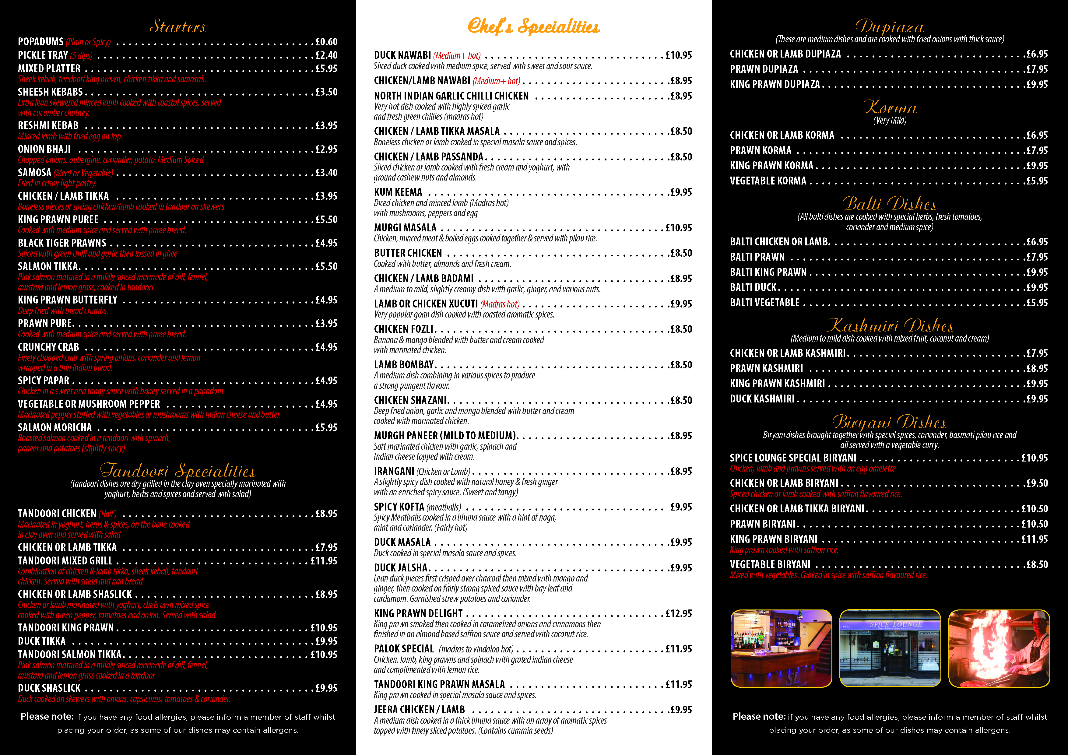 Menu indian restaurant mildenhall indian takeaway for T s dining and lounge virden menu